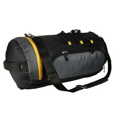 Clubb Unisex Drum Travel / Duffle  / Sports  / Gym Outdoor Bag (Black & Grey)