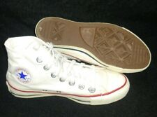 VTG Converse Sneakers White High Top Size 3.5 Made In USA Chuck Taylor