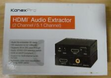 KanexPro HDMI Audio Extractor KAN-HAECOAX Brand New and in Pristine Condition