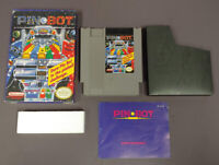 Pin Bot Pinball -- NES Nintendo Game Original BOX Complete CIB Manual Dust Cover