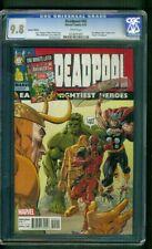Deadpool 45 CGC 9.8 Exclusive Avengers 1 Homage Renzi Variant Movie