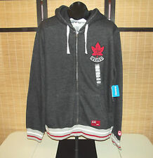 London 2012 OLYMPIC Team CANADA HBC dark gray CANADA hoodie mens size Large NWT