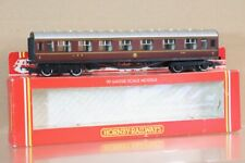 HORNBY R474 LMS MAROON STANIER COMPOSITE COACH 4120 BOXED nv