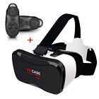 Universal VR CASE Virtual Reality 3D Glasses Headset Box+ Gamepad For Cellphones