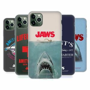 OFFICIAL JAWS I KEY ART SOFT GEL CASE FOR APPLE iPHONE PHONES