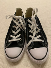 Converse Lowtops - Black - Girls Size 3 New!