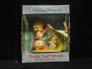 Precious Moments Ornament Cristal Clear Memories 2000