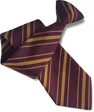 Clip On School Tie - HARRY POTTER World Book Day Hogwarts Fancy Dress Halloween