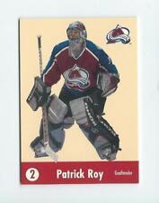 2001-02 PARKHURST SERIES HE SHOOTS HE SCORES PATRICK ROY !!