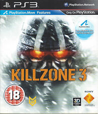 KILLZONE 3 for Playstation 3 PS3 - with box & manual