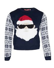 Kids Boys Christmas Jumper Girls Novelty Ugly Xmas Elf Sweatshirt Ginger Bread