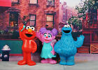 Sesame Street Muppets Cookie Monster Abby Cadabby Elmo Cake Topper Figure CEF