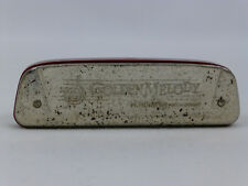 Vintage M. Hohner Golden Melody Harmonica Key of C Made in Germany Rare