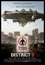 DISTRICT 9 * 1SH ORIG MOVIE POSTER 2009 FINAL NM-M DS