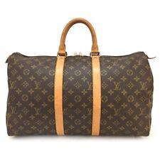 100% Authentic Louis Vuitton Monogram Keepall 45 Boston Travel Hand Bag /610
