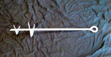 "Ground Anchor 3/4"" x 36"" w/ 4″ & 6"" Helices Galvanized, Screw in"