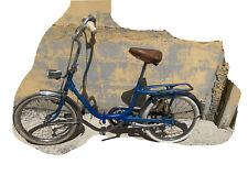 Bici Pieghevole 20 Partocolre Made In Italy Blu