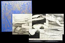 1966 Signierte Original-Graphik 1 von 99 Fuchs Ernst Architectura Caelestis