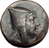 AMISOS in PONTUS 120BC Mithradates VI Quiver Authentic Ancient Greek Coin i64510