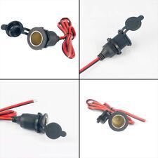 Cargador de mechero de coche Auto Adaptador Cable Enchufe Conector Enchufe Hembra