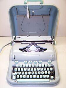 Antique 1961 Hermes Model 3000 Vintage Typewriter #3011510