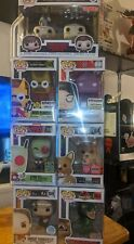 Funko Pop! Exclusives lot 7 pop W/POP PROTECTORS.