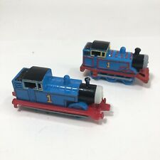 2 Thomas Tank Engine 1985 Train DieCast Britt Allcroft 1994 Hard Plastic Lot Vtg