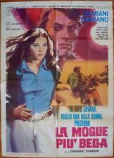 MOST BEAUTIFUL WIFE Italian 2F movie poster 39x55 ORNELLA MUTI 1971 NM