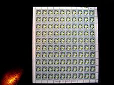 UGANDA 1969 Definitive FLOWERS 60 cents on Chalk surfaced paper MNH FULL SHEET.