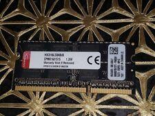 Kingston Technology HyperX 8GB 1600MHz DDR3L CL9 SODIMM Laptop ram hx316ls9ib/8