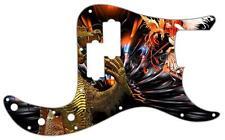 P Bass Precision Pickguard Custom Fender 13 Hole Guitar Pick Guard Golden Dragon