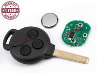 3 BOUT CLE POUR SMART FORTWO 451 2007-2015 A4518203797 433Mhz ID46-PCF7941 VA2