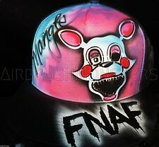 Five Nights at Freddy's Mangle Personalized Airbrush Trucker Hat