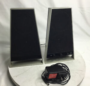 "Altec Lansing VS2620 Stlylish Computer & Gaming Speakers 8.75"" Tall Black"