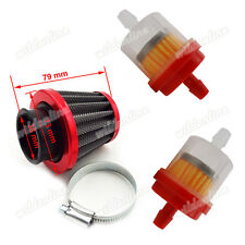 Rot Luftfilter 38mm Für 50cc 90cc 110 125cc Pit Dirt Bike ATV GY6 Moped Scooter