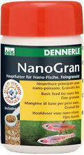 Dennerle nano de nourriture pour poissons: Gran (nanogran) 100ml granulés pour tous les petits poissons Nano