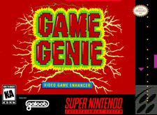 Game Genie SNES SUPER NINTENDO Video Game Accessory