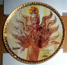 "1995 Bob Mackie ""Goddess of the Sun"" Ltd. Ed. Barbie Doll 8 1/4"" Plate MIB w/COA"