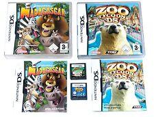 Jeux: zoo youlin + MADAGASCAR/enfants jeux pour Nintendo DS + LITE