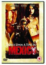 Once Upon A Time In Mexico Dvd Antonio Banderas Brand New & Factory Sealed