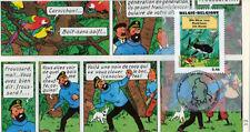 """FDC BELGIQUE """"100 ans Hergé - TINTIN Trésor de Rackham le Rouge"""" 2007 (TYPE 17)"""
