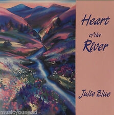 Julie Blue - Heart of the River (CD, 1995, Ancient Echoes Music) Piano Nr MINT