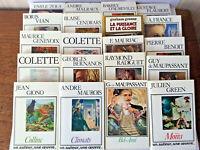 Classiqus de la Littérature Française * Lot de 20 Volumes * France Loisirs 80'
