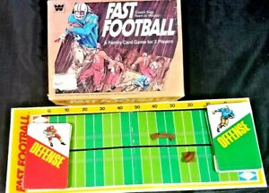 Vintage Whitman Fast Football Family Card Game