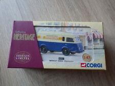 CORGI Collezione Heritage EX 70511 Renault 1000 kg CHAMBOURCY nuovo in scatola