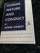 Modern Library #173 Human Nature and Conduct by John Dewey