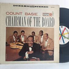 COUNT BASIE Chairman of the Board LP ROULETTE SR 52032 (1959) VG vinyl
