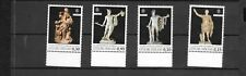 Vatican 2018 European Year Cultural Heritage Vatican Museum Sculptures MNH Set