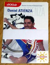 Cyclisme - Équipe COFIDIS année 2003 (21 cartes)