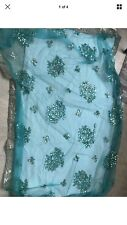Indian traditional Embroidered Bollywood half Net saree